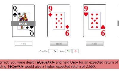 Video Poker Teacher